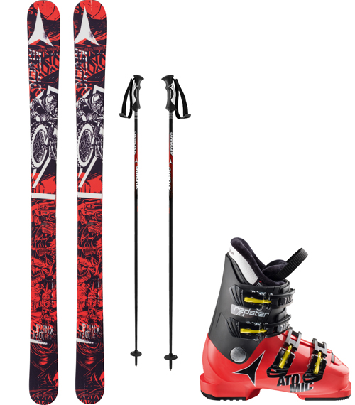 Youth Demo Ski Rental
