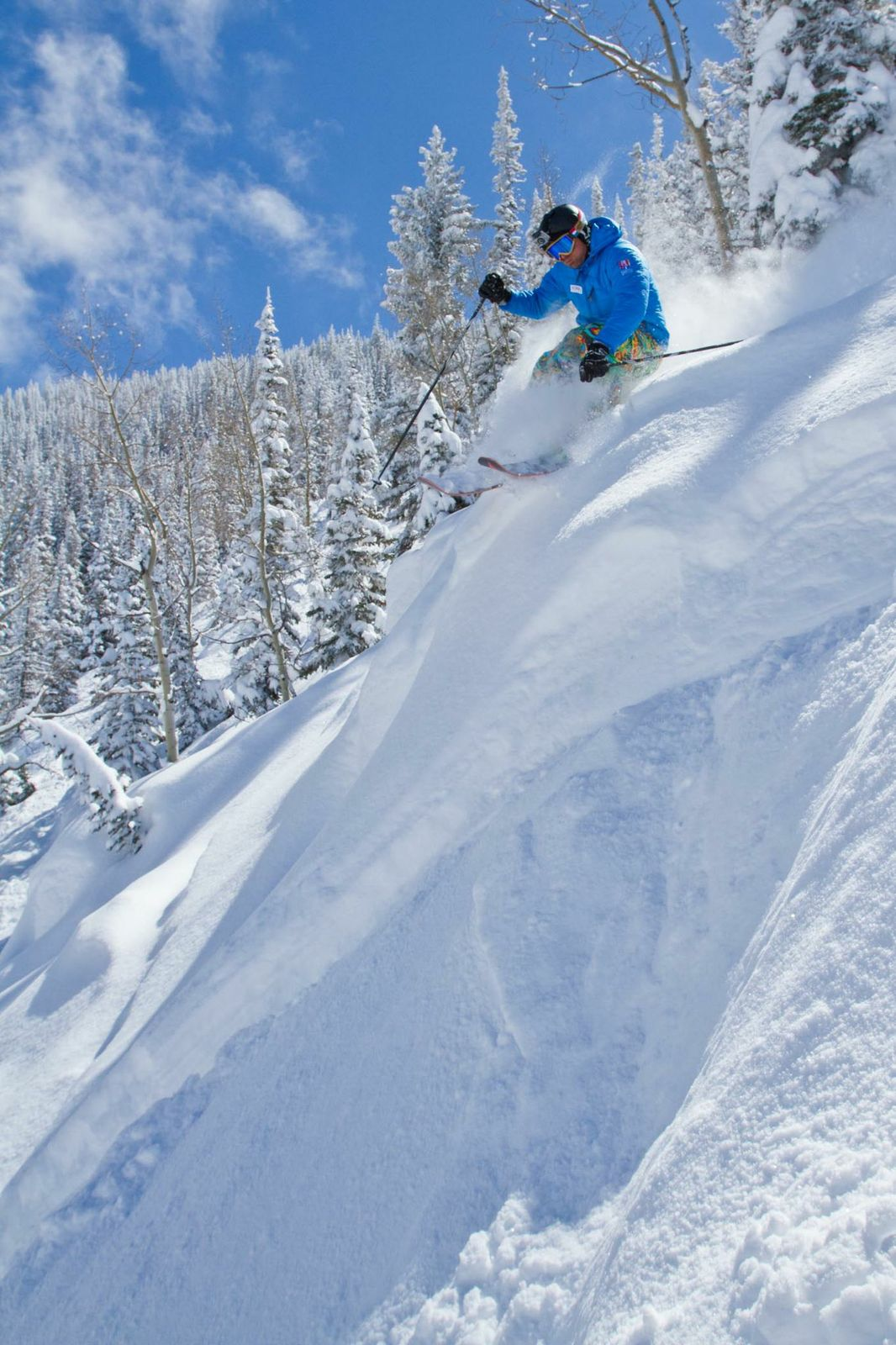 Chad Fleischer Powder Skiing