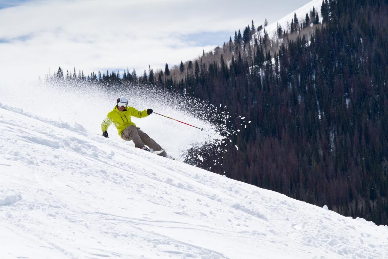 Chad Fleischer Skiing
