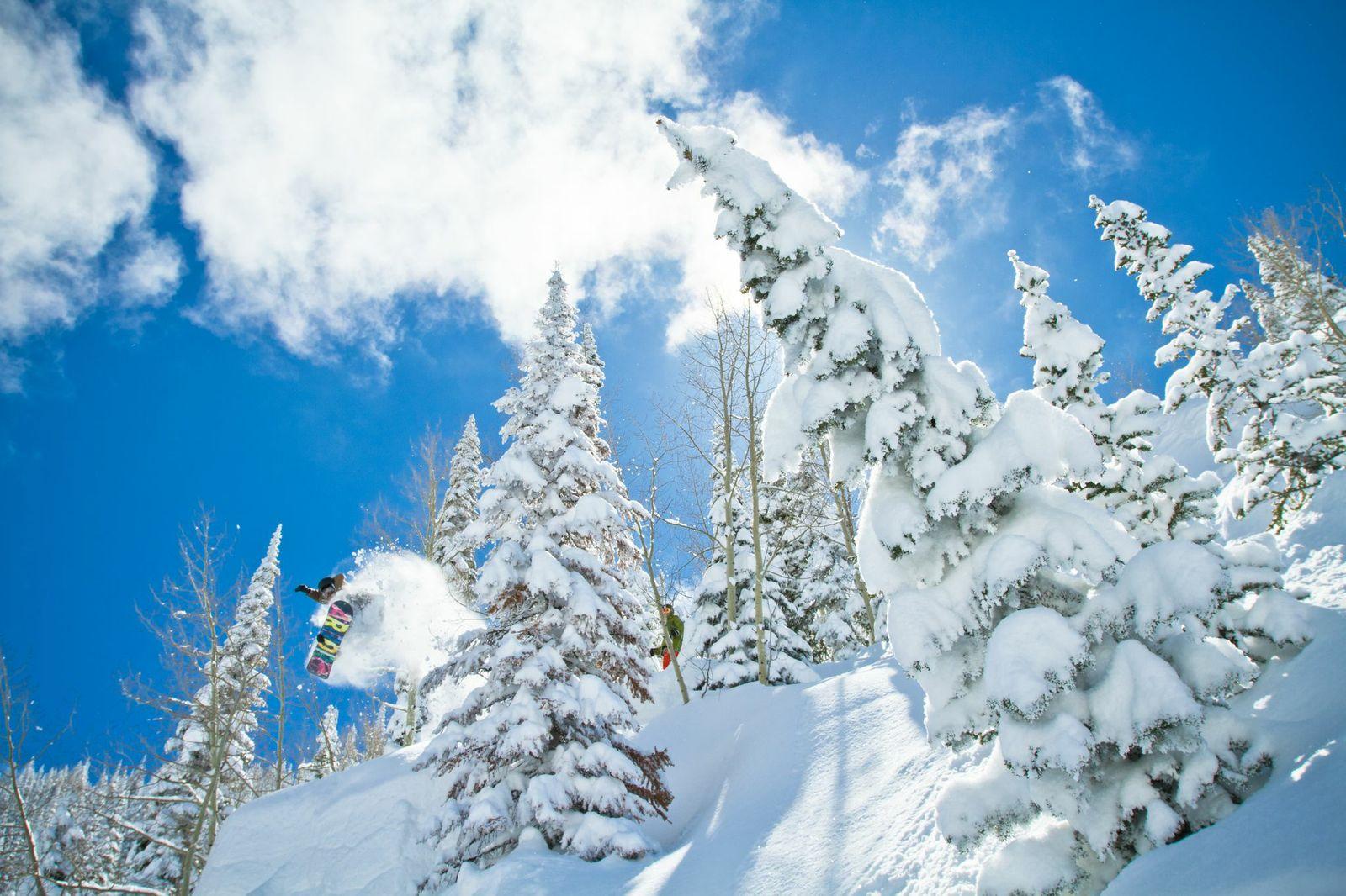 Chad Fleischer Snowboard Air